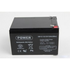 AGM-akku 12Ah 12V Power Plus lyijyakku GB12-12